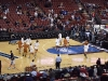 Texas warms up